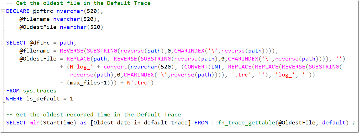 how to read trace file in sql server