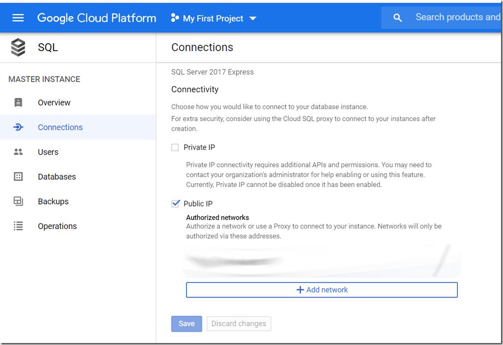 Executando o SQL Server no Google Cloud Platform - SQL TECH BLOG 8